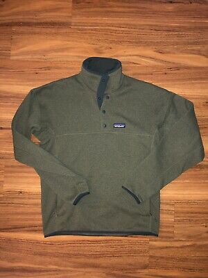 e699f35973616 NWT $139 PATAGONIA Mens Woolyester Fleece Pullover - Forge Grey, MED ...