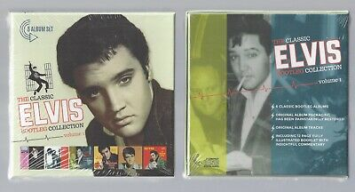 Elvis The Classic Elvis Presley Bootleg Collection Vol1 + Vol 2 Box Sealed 12 Cd