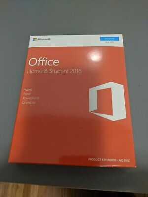 Microsoft Office Home & Student 2016 (License Only) (1) - Full Version for PC