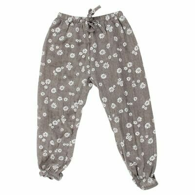 Kids Children Baby Girls Trousers Child Casual Floral Bloomers Harem Pants K2E9