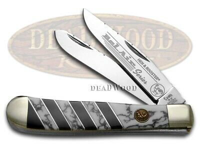 HEN & ROOSTER AND Bel Air Wildhorse Jasper Trapper Stainless 312BA/WHJ Knife