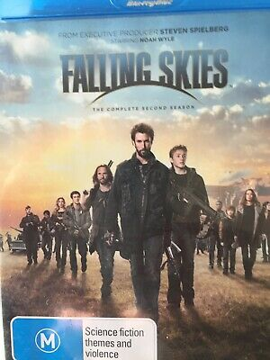 FALLING SKIES - Season 2 2 x BLURAY Set AS NEW! Complete Second Series Two