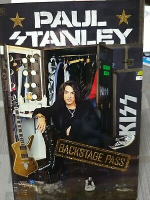 Paul Stanley Signed Back Stage Pass Book