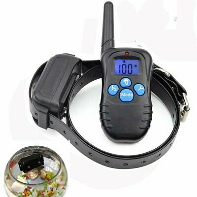 Waterproof Rechargeable LCD Electric Remote Dog Training Shock Collar NEWEST