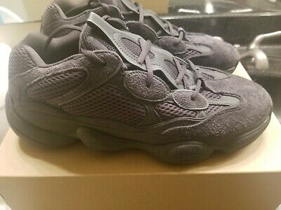 sneakers for cheap e84f5 c598d ADIDAS YEEZY 500 Utility Black Sz 10 Kanye West