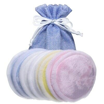 4/8PCS Reusable Makeup Remover Pads Cotton Soft Bamboo Pads with Laundry Bag Hot