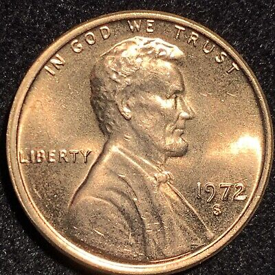 1972-S / S Lincoln Cent Ddo Double Die Obverse Extremely Rare Ms Brilliant Jewel