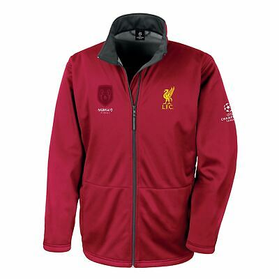 Liverpool FC Red Mens  UCL Champions Jacket LFC Official
