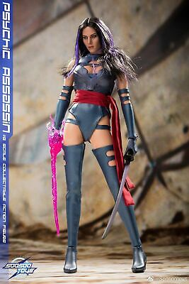 SOOSOOTOYS SST-009 1/6 Psychic Assassin Action Figure New Cool Toy