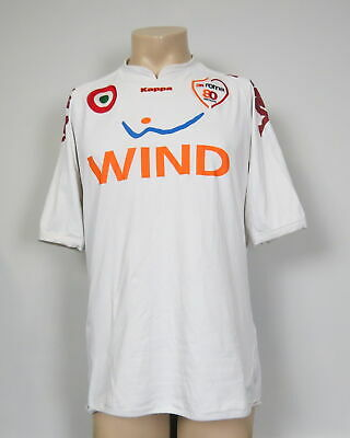 Vintage AS Roma 2007 2008 away shirt Kappa soccer jersey 80 years size XXL