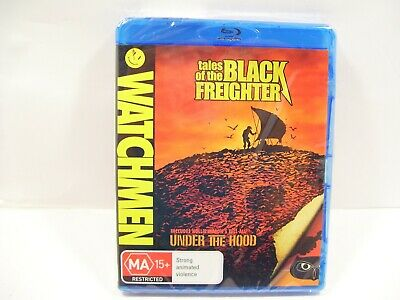 Watchmen Tales Of The Black Freighter Bluray Blu Ray Blu-Ray Dvd Movie