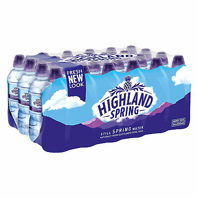 HIGHLAND SPRING NATURAL Still Spring Water with Sports Top 12x 1