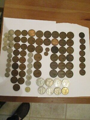 COLLECTION OF OLD IRISH COINS - Various Dates. and condition.   # 55.001