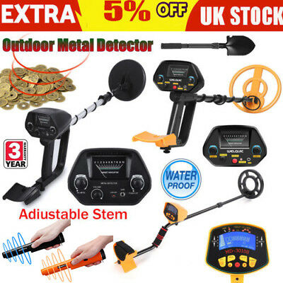 Waterproof Metal Detector Deep Sensitive Search Coil digger Gold Treasure Hunt