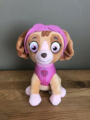 """Official 11"""" Paw Patrol Skye Plush Soft Toy Nickelodeon **Wd19"""