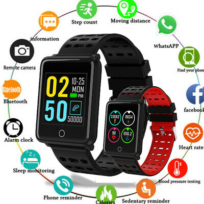 Fitness Smart Watch Band Sport Activity Tracker For Kids Fit bit Android iOS