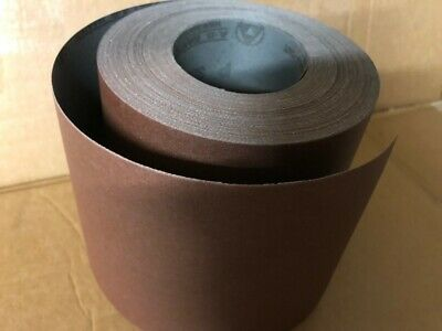 25 metre ROLL CLOTH BACKED ABRASIVE SANDPAPER WOODTURNING ALI OXIDE CLEARANCE
