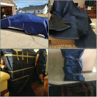 Moving Packing Blankets Wear-resisting Packing Quilted Shipping Furniture Pads