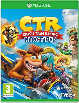 Crash Team Racing Nitro-Fueled (Xbox One)  BRAND NEW AND SEALED - IN STOCK