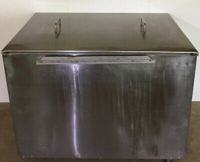 """Stainless Donut Glazing Table 34""""  Long Screen"""