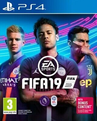 🔥🚨Fifa 19 Ps4 Brand New & Sealed - Super Fast Same Day Dispatch🚨🔥