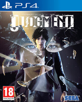 Judgment (PS4)  BRAND NEW AND SEALED - IN STOCK - QUICK DISPATCH