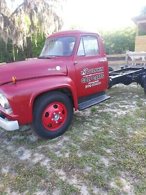ford f100 1953 54 55 56 original truck hood emblem nice condition1953 ford f 100 rare 1953 ford f 600 2 ton pickup truck