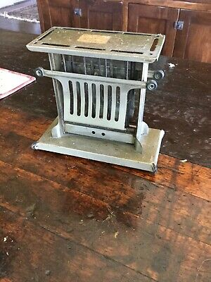 Vintage Antique Thermax Electric 2 Slice Toaster Landers Frary Clark E3946