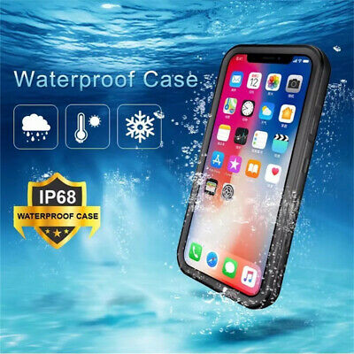For Apple iPhone XR Case Life Waterproof Dropproof Dirtproof Snowproof 2 Colors