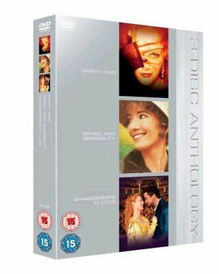 Vanity Fair/Sense And Sensibility/Shakespeare In L DVD (2005) Reese Witherspoon