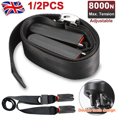1PC Car ISOFIX Latch Belt Baby Seat Safety Harness Adjustable Soft Link Strap