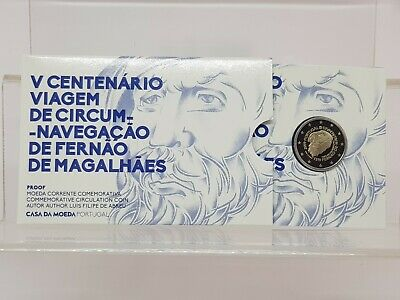 Portugal 2 E. 2019 - Proof - Conm. Magallanes - En Coincard -