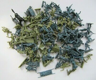 Vintage Airfix 1:72 Scale Wwii Figures Toy Soldiers Small Job Lot Bundle British