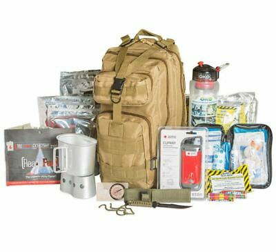 3 Day Backpack Emergency Food and Gear Survival Tactical Medical Kit Bag 72 Hrs