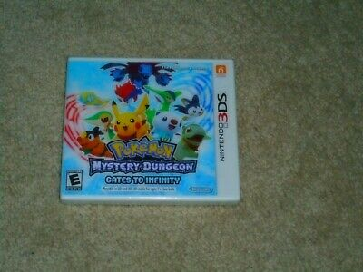 Pokemon Mystery Dungeon Gates To Infinity...nintendo 3Ds...**Sealed**New**!!!!!!