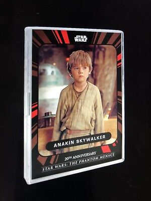 2019 Star Wars On Demand Phantom Menace 20th Ann, Topps, Base Card Set & Case
