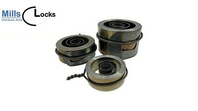 2x Brass French Clock Pendulum Large Suspension Spring (21.5mm x 9mm x 4.5mm) 2G