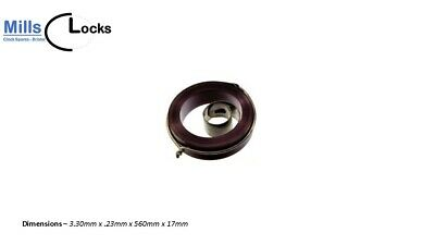 French Clock Pendulum Suspension Spring. (28.5mm x 14mm x 6mm)  (Type G28)