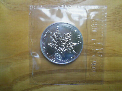 1999-2000 Silver Maple Leaf  Uncirculated - Dual Date Millenium Privy