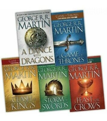 Song of Ice and Fire/Game of thrones Series 4  Books  [PDF][EPUB][MOBI]