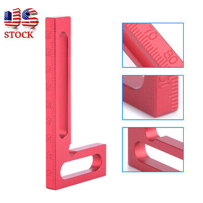 3D L-Square Mini Clamping Square Mitre Angle Measuring Woodworking Tool&Ruler