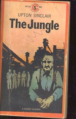 The Jungle by Upton Sinclair (1960, Paperback)