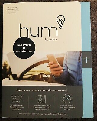 Hum By Verizon Tracking And Diagnostic System