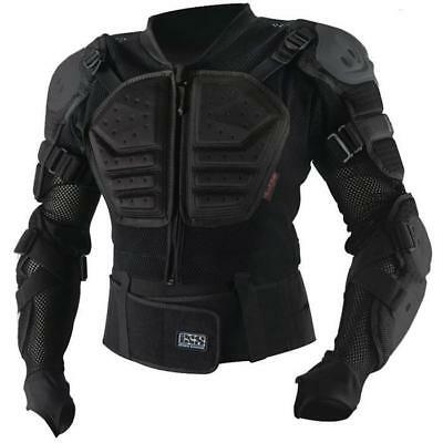 iXS MX MTB Safety Jacket - ASSAULT PROTECTION JACKET - schwarz Motocross Enduro