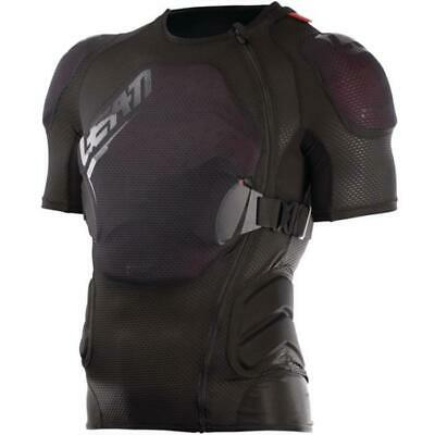 Leatt Safety Jacket - Body Tee 3DF Airfit Lite - schwarz-rot Motocross Enduro MX