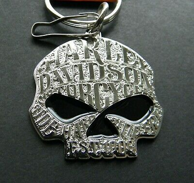 Harley Davidson Motorcycles WILLIE G Key Ring Keychain Chain 1.75 inches
