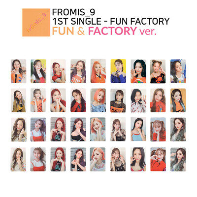 FROMIS_9 - FUN FACTORY Official Photocard - FUN & FACTORY Ver. : Member & SET