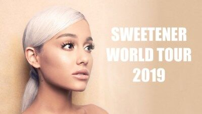 2 Ariana Grande Seated Tickets 3Arena Dublin Sep 25Th Sweetener Tour 2019
