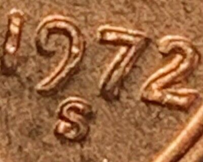 1972-S/S Lincoln Cent Ddo Double Die Obverse Rare ** Brilliant Jewel Ddo *Nice!!