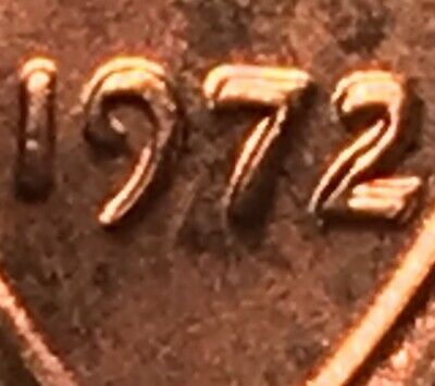 1972 Lincoln Cent Ddo Double Die Obverse Museum Piece!  * A Beauty! Ms Bu ++++++